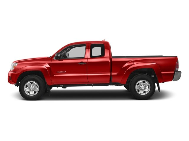 Inferno 2015 Toyota Tacoma Pictures Tacoma TRD Access Cab 4WD V6 photos side view