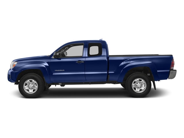 Blue Ribbon Metallic 2015 Toyota Tacoma Pictures Tacoma Base Access Cab 4WD V6 photos side view