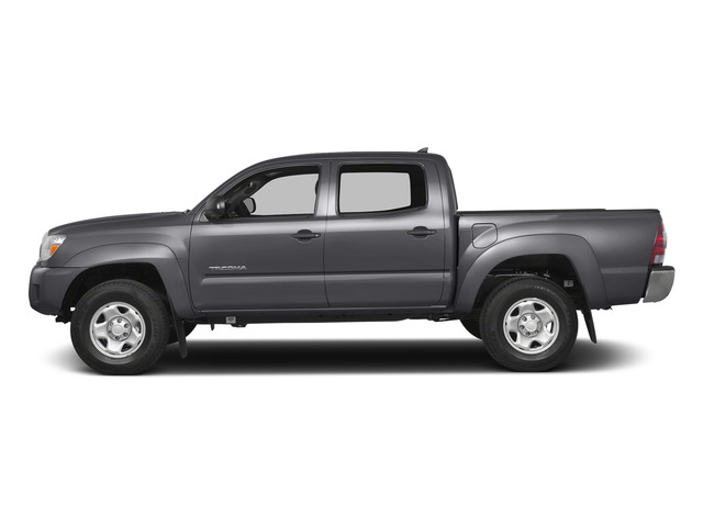 Magnetic Gray Metallic 2015 Toyota Tacoma Pictures Tacoma PreRunner 2WD I4 photos side view