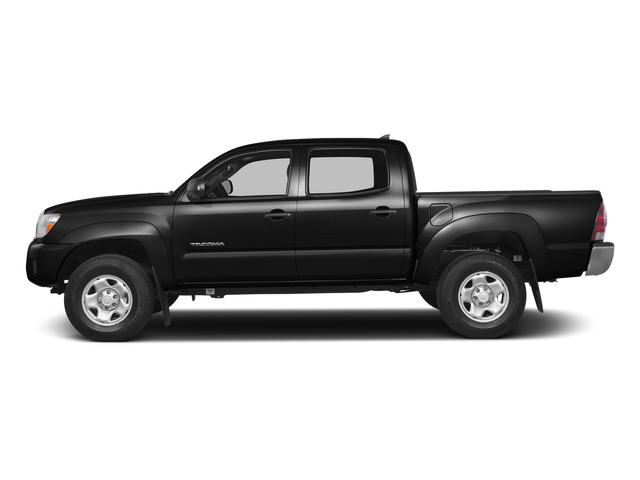 Black 2015 Toyota Tacoma Pictures Tacoma PreRunner 2WD I4 photos side view
