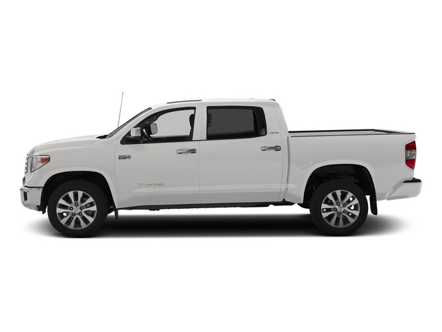 Super White 2015 Toyota Tundra 4WD Truck Pictures Tundra 4WD Truck Limited CrewMax 4WD photos side view