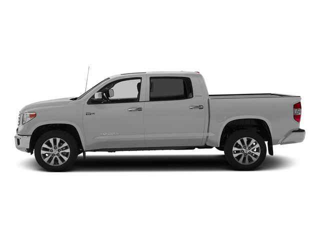 Silver Sky Metallic 2015 Toyota Tundra 4WD Truck Pictures Tundra 4WD Truck Limited CrewMax 4WD photos side view