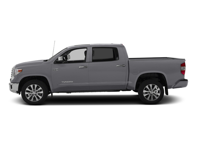 Magnetic Gray Metallic 2015 Toyota Tundra 4WD Truck Pictures Tundra 4WD Truck Limited CrewMax 4WD photos side view