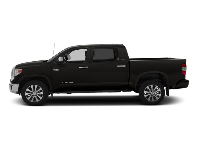 Black 2015 Toyota Tundra 4WD Truck Pictures Tundra 4WD Truck SR5 CrewMax 4WD photos side view