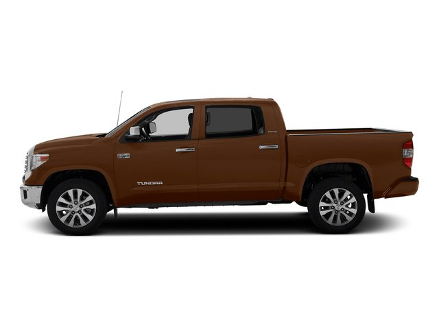 Sunset Bronze Mica 2015 Toyota Tundra 4WD Truck Pictures Tundra 4WD Truck Limited CrewMax 4WD photos side view