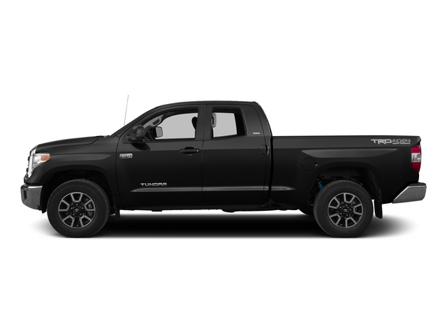 Black 2015 Toyota Tundra 4WD Truck Pictures Tundra 4WD Truck SR5 Double Cab 4WD photos side view