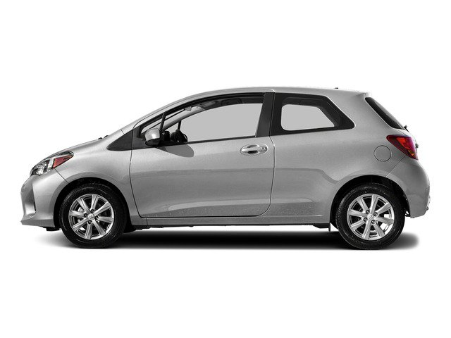 Classic Silver Metallic 2015 Toyota Yaris Pictures Yaris Hatchback 3D LE I4 photos side view