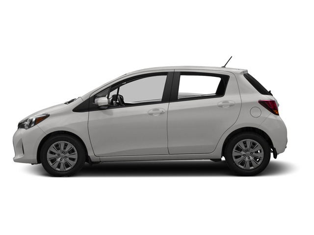 Super White 2015 Toyota Yaris Pictures Yaris Hatchback 5D SE I4 photos side view