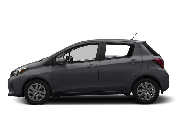 Magnetic Gray Metallic 2015 Toyota Yaris Pictures Yaris Hatchback 5D SE I4 photos side view