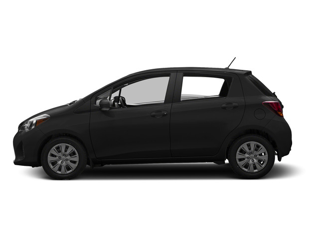 Black Sand Pearl 2015 Toyota Yaris Pictures Yaris Hatchback 5D SE I4 photos side view