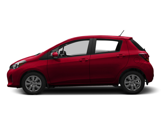Absolutely Red 2015 Toyota Yaris Pictures Yaris Hatchback 5D SE I4 photos side view