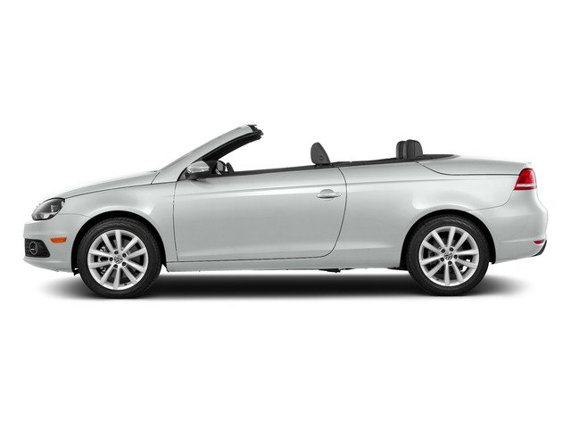 Pure White 2015 Volkswagen Eos Pictures Eos Convertible 2D Komfort I4 Turbo photos side view