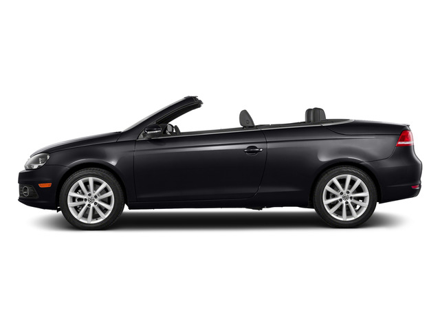 Deep Black Pearl 2015 Volkswagen Eos Pictures Eos Convertible 2D Komfort I4 Turbo photos side view