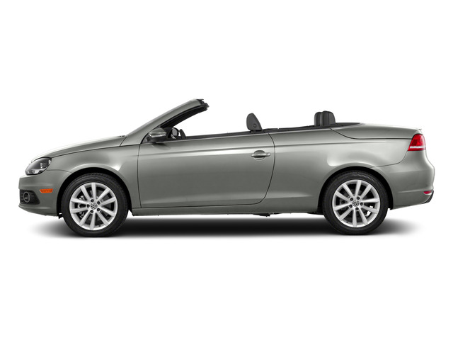 Reflex Silver Metallic 2015 Volkswagen Eos Pictures Eos Convertible 2D Komfort I4 Turbo photos side view