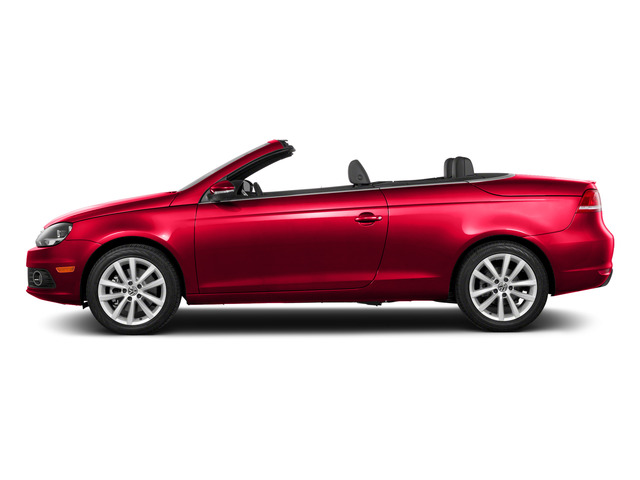 Flash Red 2015 Volkswagen Eos Pictures Eos Convertible 2D Komfort I4 Turbo photos side view