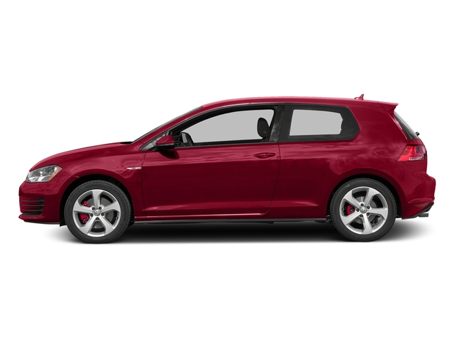 Tornado Red 2015 Volkswagen Golf GTI Pictures Golf GTI Hatchback 2D S I4 Turbo photos side view
