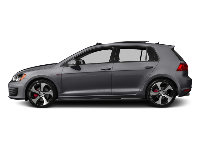 Deep Black Pearl 2015 Volkswagen Golf GTI Pictures Golf GTI Hatchback 4D S I4 Turbo photos side view