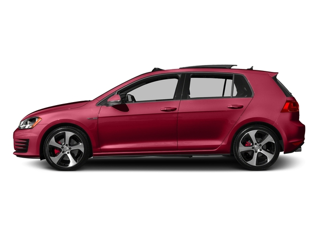 Tornado Red 2015 Volkswagen Golf GTI Pictures Golf GTI Hatchback 4D S I4 Turbo photos side view