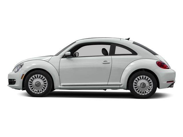 Pure White 2015 Volkswagen Beetle Coupe Pictures Beetle Coupe 2D 1.8T Entry I4 Turbo photos side view