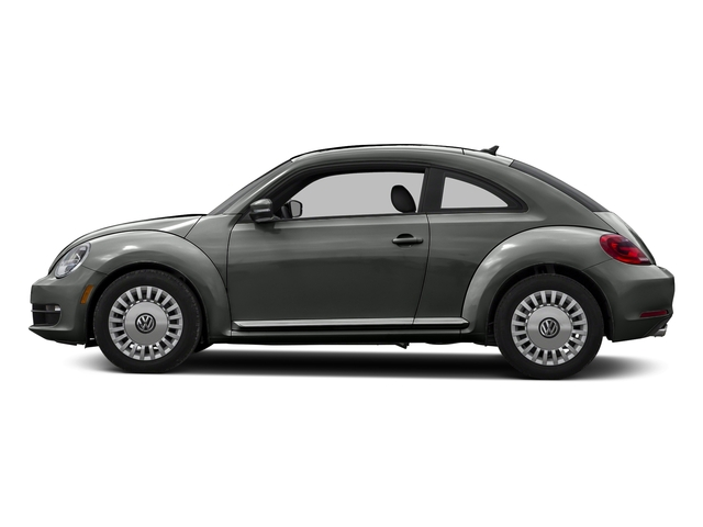 Platinum Gray Metallic 2015 Volkswagen Beetle Coupe Pictures Beetle Coupe 2D 1.8T Entry I4 Turbo photos side view