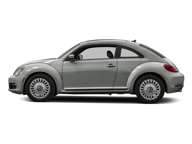 Reflex Silver Metallic 2015 Volkswagen Beetle Coupe Pictures Beetle Coupe 2D TDI I4 photos side view