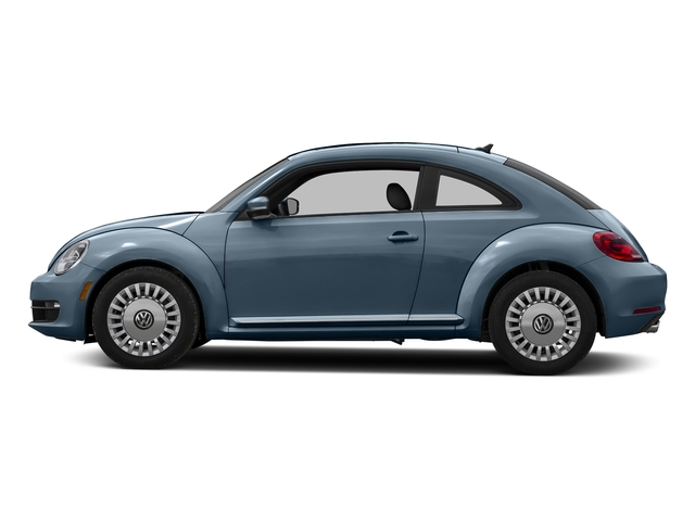 Denim Blue 2015 Volkswagen Beetle Coupe Pictures Beetle Coupe 2D 1.8T Entry I4 Turbo photos side view