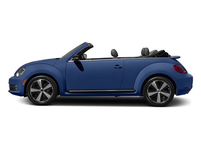 Reef Blue Metallic/Black Roof 2015 Volkswagen Beetle Convertible Pictures Beetle Convertible Convertible 2D R-Line I4 Turbo photos side view