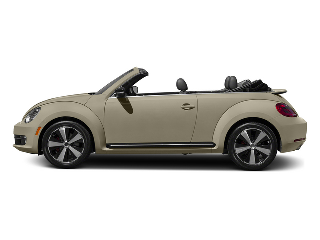 Moonrock Silver Metallic/Black Roof 2015 Volkswagen Beetle Convertible Pictures Beetle Convertible Convertible 2D TDI I4 photos side view