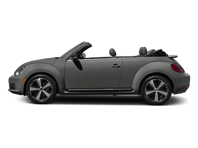 Platinum Gray Metallic/Black Roof 2015 Volkswagen Beetle Convertible Pictures Beetle Convertible Convertible 2D TDI I4 photos side view