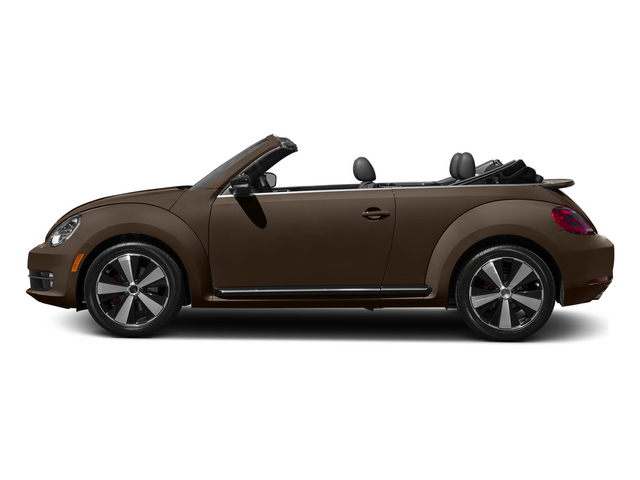 Toffee Brown Metallic/Beige Roof 2015 Volkswagen Beetle Convertible Pictures Beetle Convertible Convertible 2D TDI I4 photos side view