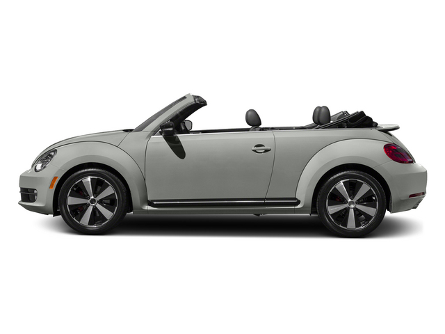 Reflex Silver Metallic/Black Roof 2015 Volkswagen Beetle Convertible Pictures Beetle Convertible Convertible 2D TDI I4 photos side view