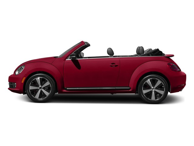 Tornado Red/Black Roof 2015 Volkswagen Beetle Convertible Pictures Beetle Convertible Convertible 2D R-Line I4 Turbo photos side view
