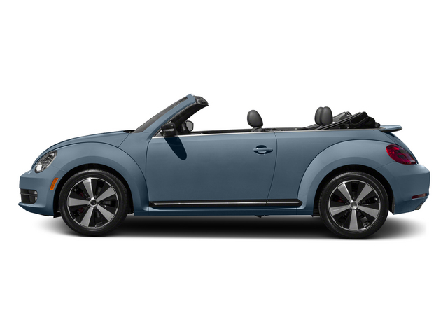 Denim Blue/Black Roof 2015 Volkswagen Beetle Convertible Pictures Beetle Convertible Convertible 2D R-Line I4 Turbo photos side view