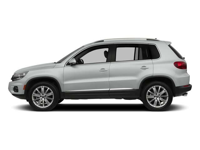 Pure White 2015 Volkswagen Tiguan Pictures Tiguan Utility 4D R-Line AWD I4 Turbo photos side view