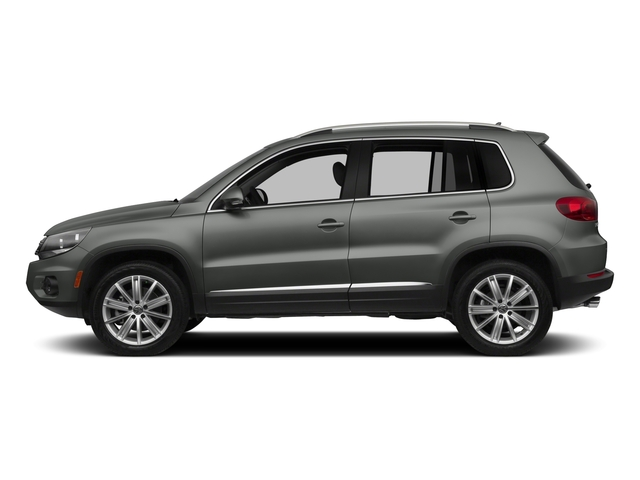 Pepper Gray Metallic 2015 Volkswagen Tiguan Pictures Tiguan Utility 4D R-Line AWD I4 Turbo photos side view
