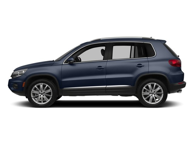 Night Blue Metallic 2015 Volkswagen Tiguan Pictures Tiguan Utility 4D R-Line AWD I4 Turbo photos side view