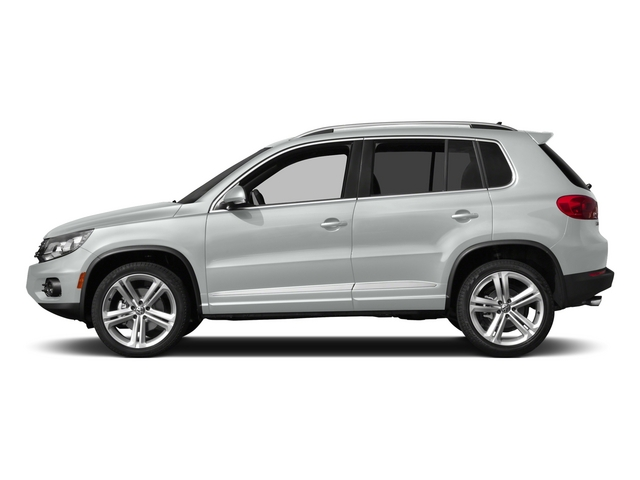 Pure White 2015 Volkswagen Tiguan Pictures Tiguan Utility 4D R-Line 2WD I4 Turbo photos side view