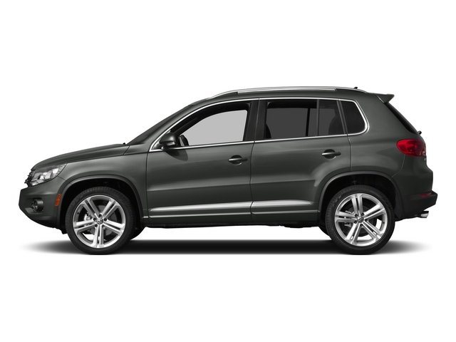 Pepper Gray Metallic 2015 Volkswagen Tiguan Pictures Tiguan Utility 4D R-Line 2WD I4 Turbo photos side view
