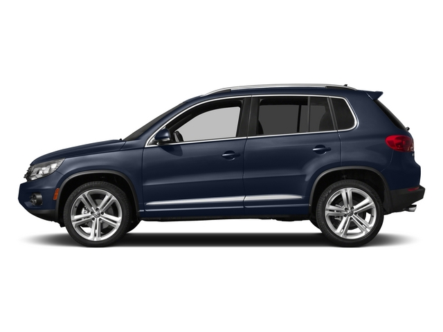Night Blue Metallic 2015 Volkswagen Tiguan Pictures Tiguan Utility 4D R-Line 2WD I4 Turbo photos side view