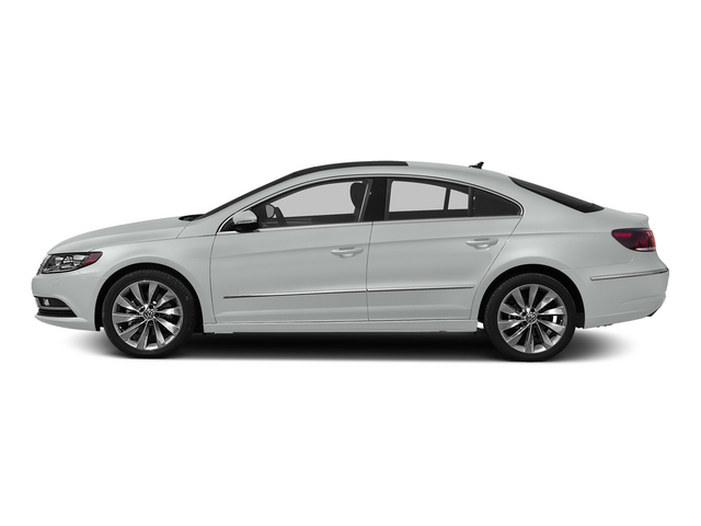 Pure White 2015 Volkswagen CC Pictures CC Sedan 4D Sport I4 Turbo photos side view