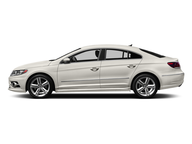 Pure White 2015 Volkswagen CC Pictures CC Sedan 4D R-Line I4 Turbo photos side view
