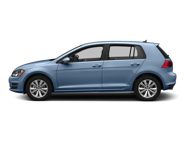 Silk Blue Metallic 2015 Volkswagen Golf Pictures Golf Hatchback 4D SEL I4 Turbo photos side view