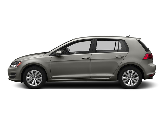 Tungsten Silver Metallic 2015 Volkswagen Golf Pictures Golf Hatchback 4D TDI SEL I4 Turbo photos side view