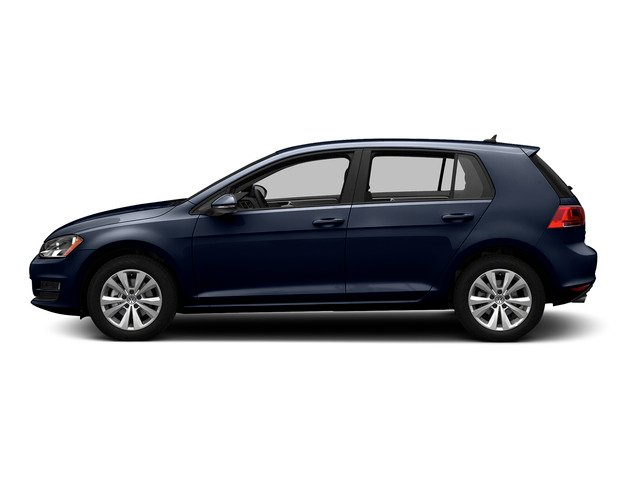 Night Blue Metallic 2015 Volkswagen Golf Pictures Golf Hatchback 4D SEL I4 Turbo photos side view