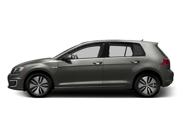 Limestone Gray 2015 Volkswagen e-Golf Pictures e-Golf Hatchback 4D e-Golf Electric photos side view