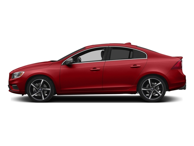 Passion Red 2015 Volvo S60 Pictures S60 Sedan 4D T6 Platinum R-Design AWD photos side view