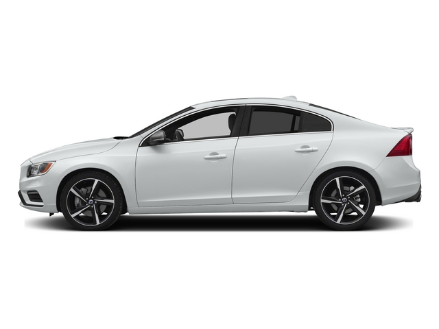 Crystal White Pearl 2015 Volvo S60 Pictures S60 Sedan 4D T6 Platinum R-Design AWD photos side view