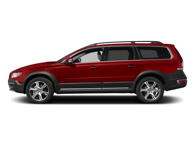 Flaminco Red Metallic 2015 Volvo XC70 Pictures XC70 Wagon 4D T6 Platinum AWD Turbo photos side view