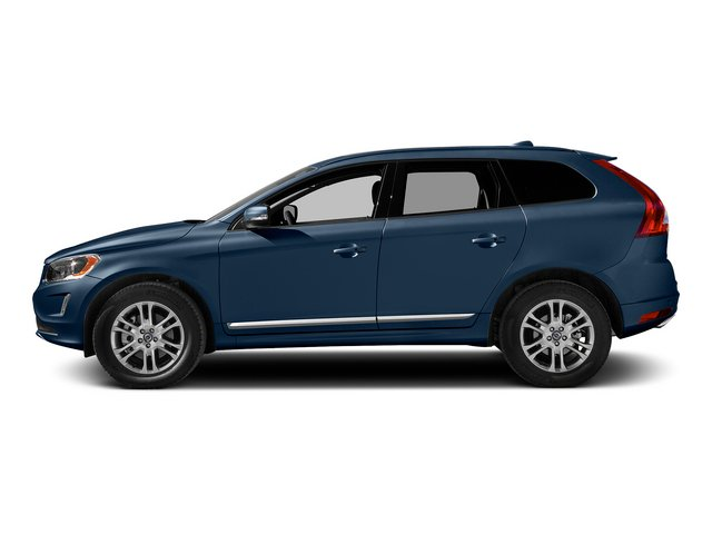 Caspian Blue Metallic 2015 Volvo XC60 Pictures XC60 Utility 4D T5 Platinum AWD I5 Turbo photos side view