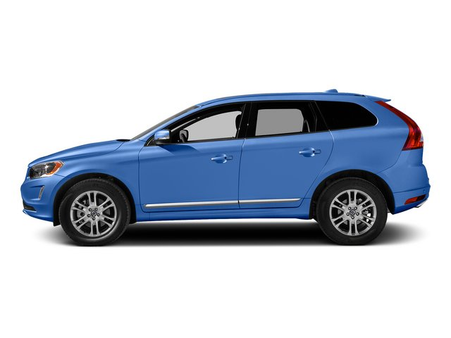 Power Blue Metallic 2015 Volvo XC60 Pictures XC60 Utility 4D T5 Platinum AWD I5 Turbo photos side view